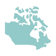 Canada map - Aden and Anais